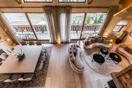 Rent a luxury chalet in Megeve